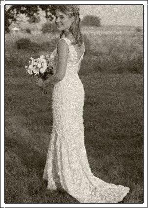 Celebrity Bride Jenna Bush Hager Wedding dress
