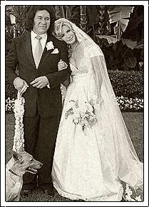 Celebrity Bride Shannon Tweed Simmons Wedding Dress