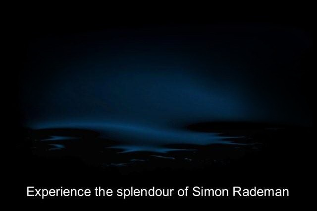 Welcome to the official cyber home of Simon Rademan